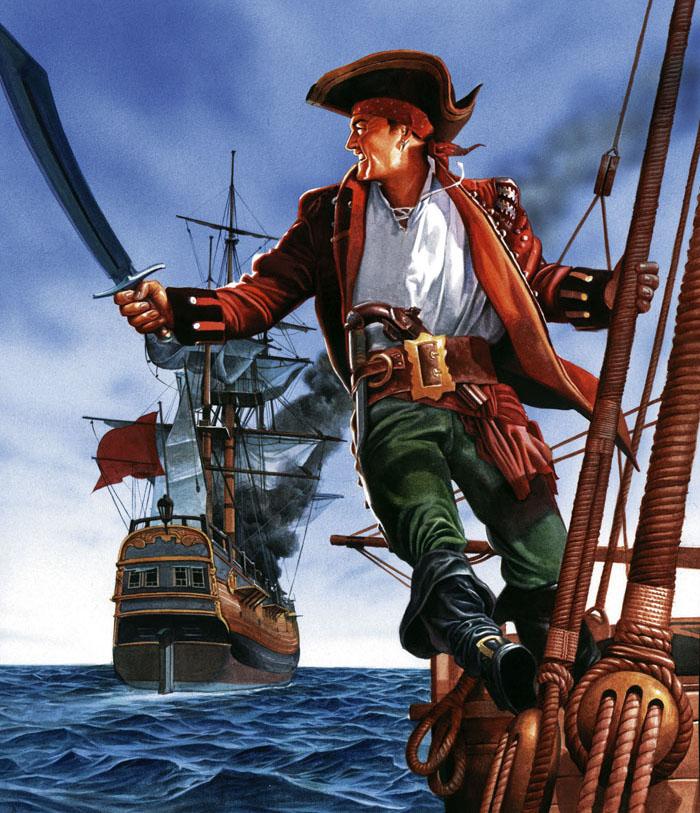 пираты капитан картинки выделять две основные