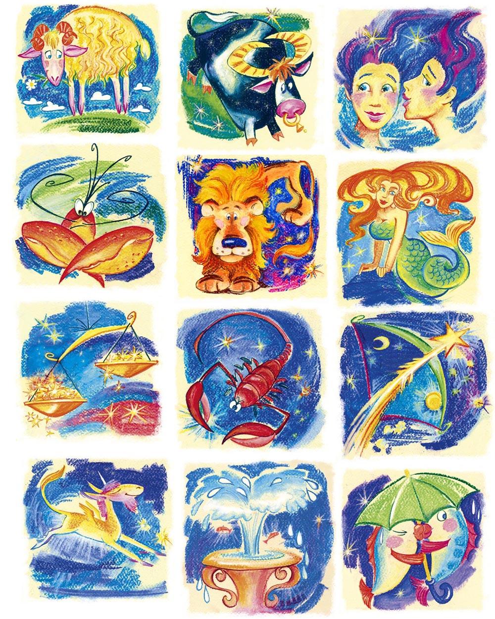 Картинки знаки зодиака по месяцам красивые картинки, днем уголовного
