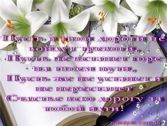 Поздравление с юбилеем лилию