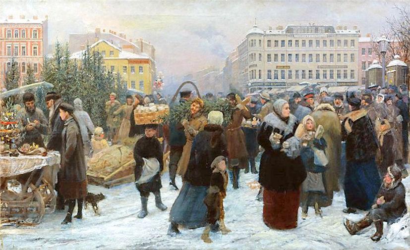 Традиции нового года в 19 веке