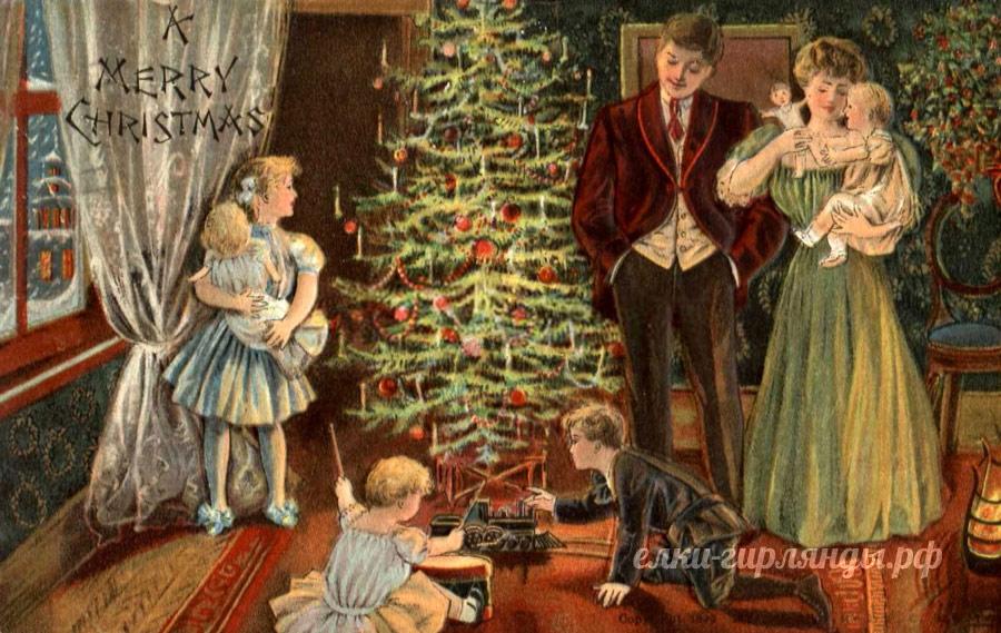 Празднование нового года в 18 веке