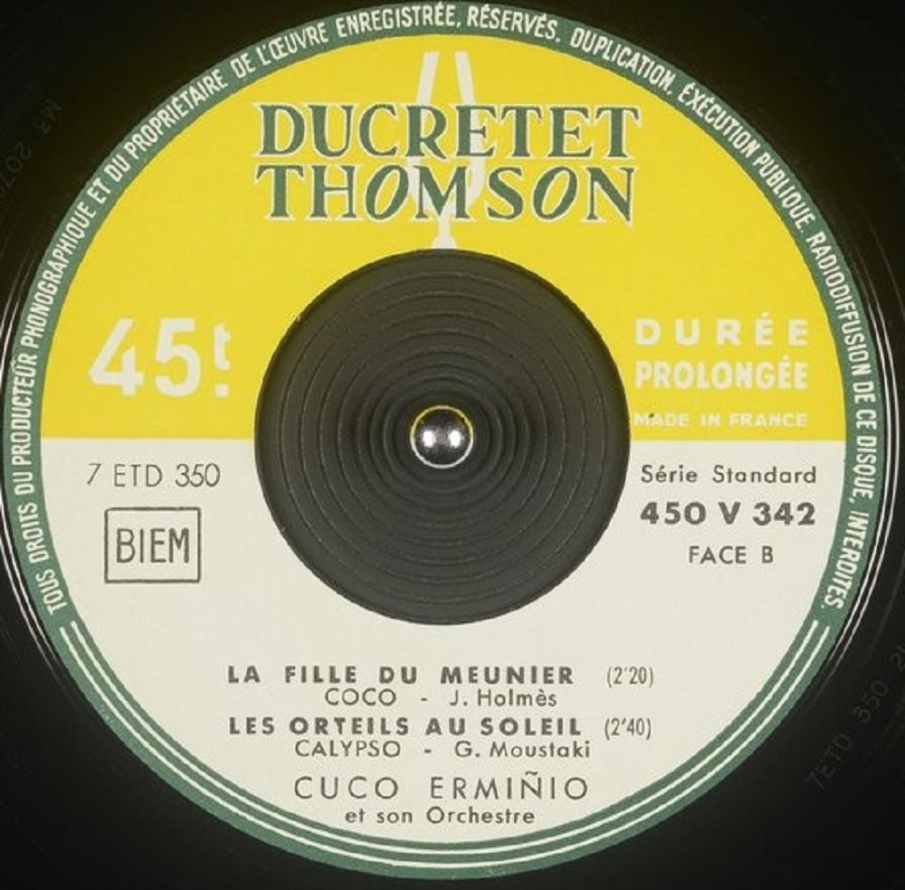 Cuco Erminio Et Son Orchestre - Rock A Conga