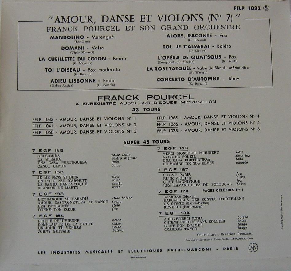 Franck Pourcel Et Son Grand Orchestre - The Godfather