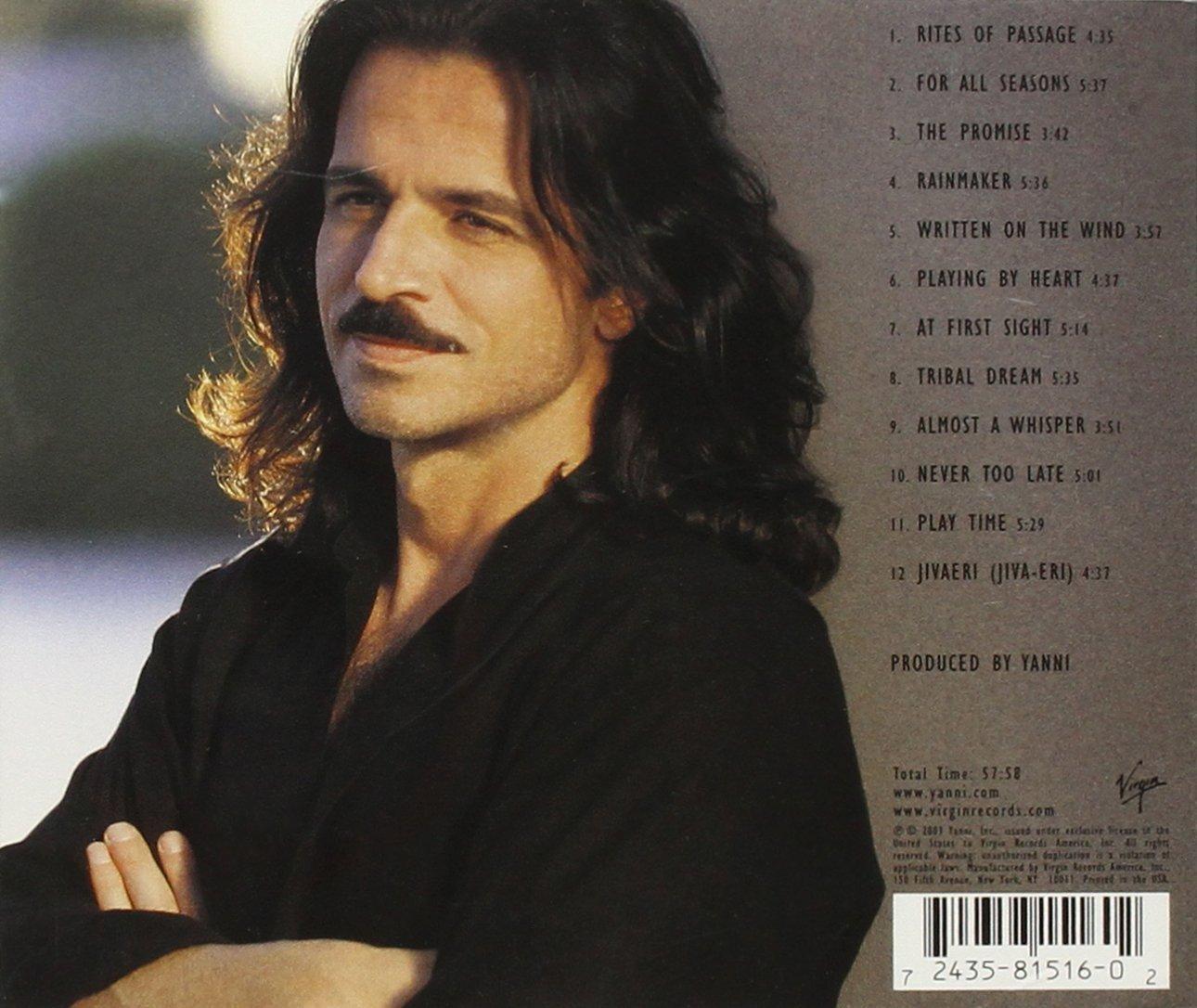 Yanni : все альбомы, включая the dream concert: live from the great 2008